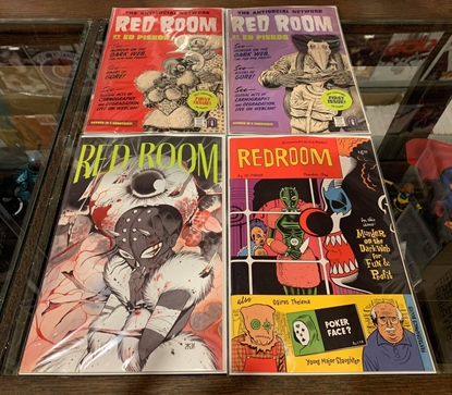 Picture of RED ROOM (2021) #1 CVR A , 1:5, 1:12, 1:20 PEACH MOMOKO VARIANT COVER SET NM