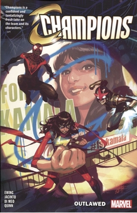 Picture of CHAMPIONS TP VOL 1 OUTLAWED