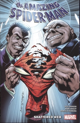 Picture of AMAZING SPIDER-MAN BY NICK SPENCER TP VOL 12 SHATTERED WEB