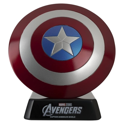 Picture of MARVEL HERO COLLECTOR MUSEUM #3 CAPTAIN AMERICAS SHIELD