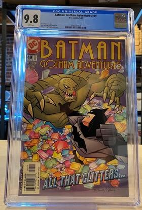 Picture of BATMAN GOTHAM ADVENTURES #49 CGC 9.8 NM/MT / KILLER CROC COVER