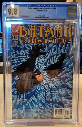 Picture of BATMAN GOTHAM ADVENTURES #54 CGC 9.8 NM/MT / ONLY 1 ON CENSUS