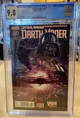 Picture of DARTH VADER (2015) #13 CGC 9.8 NM/MT / VADER DOWN PART 2