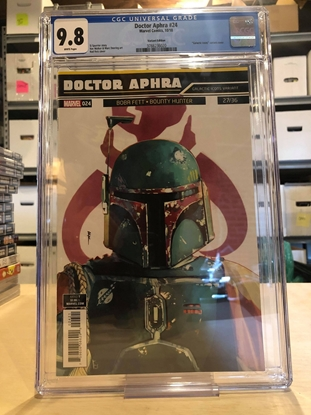 Picture of DOCTOR APHRA #24 / GALACTIC ICONS BOBA FETT VARIANT CGC 9.8 NM/MT
