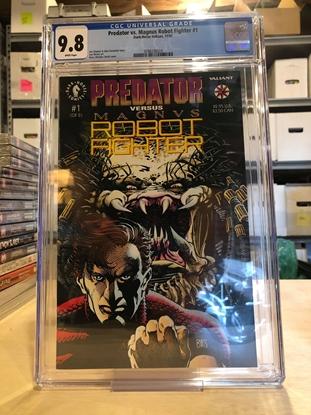 Picture of PREDATOR VS MAGNUS ROBOT FIGHTER #1 CGC 9.8 NM/MT / BWS COVER ART 1ST PRINT