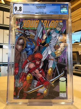 Picture of YOUNGBLOOD #0 / CGC 9.8 NM/MT / WITH COUPON-ORANGE LOGO