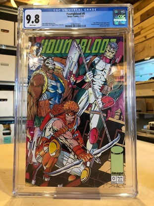 Picture of YOUNGBLOOD #0 / CGC 9.8 NM/MT / WITH COUPON-GREEN LOGO