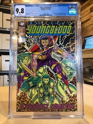Picture of YOUNGBLOOD #2 / CGC 9.8 NM/MT / 1ST APP. SHADOWHAWK & PROPHET