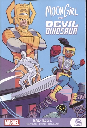 Picture of MOON GIRL AND DEVIL DINOSAUR GN-TP BAD BUZZ