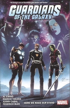 Picture of GUARDIANS OF THE GALAXY BY AL EWING TP VOL 02 HERE WE MAKE O