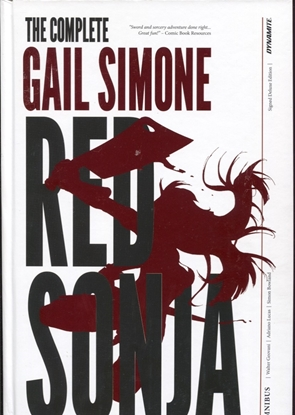 Picture of RED SONJA COMPLETE GAIL SIMONE HC OVERSIZED SIMONE SGN