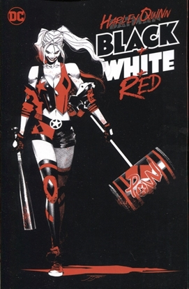 Picture of HARLEY QUINN BLACK WHITE RED TP