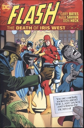 Picture of FLASH THE DEATH OF IRIS WEST HC