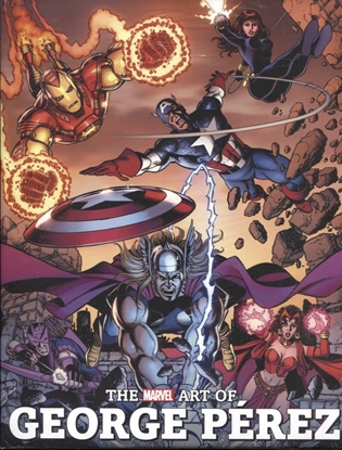 Picture of MARVEL ART OF GEORGE PEREZ HC