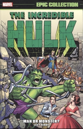 Picture of INCREDIBLE HULK EPIC COLLECTION TP MAN OR MONSTER NEW PTG