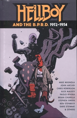 Picture of HELLBOY AND THE BPRD 1952-1954 HC