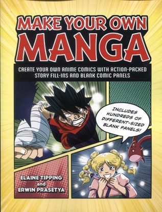 Picture of MAKE YOUR OWN MANGA SC