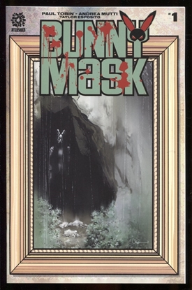 Picture of BUNNY MASK #1 1:15 COPY ADLARD VARIANT COVER