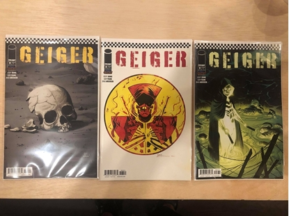 Picture of GEIGER #3 COVER A B C SET / GEOFF JOHNS NM IMAGE