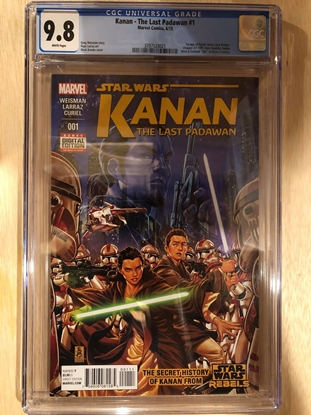 Picture of KANAN (2015) #1 / 1ST APP KANAN,EZRA / CGC 9.8 NM/MT