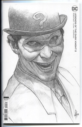 Picture of LEGENDS OF THE DARK KNIGHT #2  1:25 RICCARDO FEDERICI CARD STOCK VARIANT