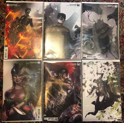 Picture of BATMAN #95 96 97 98 99 100 / COVER B VARIANT JOKER WAR SET