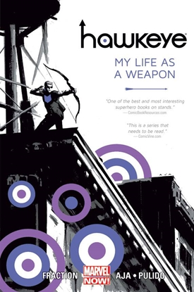 Picture of HAWKEYE TP VOL 1 MY LIFE AS WEAPON NOW