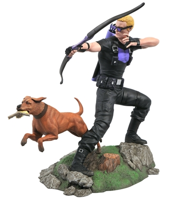 Picture of MARVEL GALLERY COMIC HAWKEYE PVC STATUE