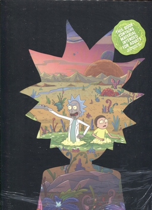 Picture of ART OF RICK & MORTY HC DELUXE EDITION VOL 2
