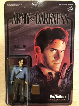 Picture of ARMY OF DARKNESS WAVE 2 MEDIEVAL ASH REACTION FIGURE