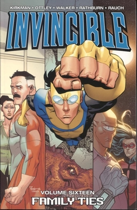 Picture of INVINCIBLE TP VOL 16 FAMILY TIES