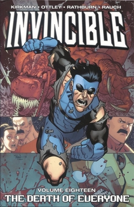 Picture of INVINCIBLE TP VOL 18 DEATH OF EVERYONE