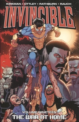 Picture of INVINCIBLE TP VOL 19 THE WAR AT HOME