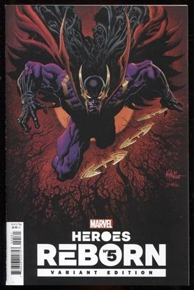 Picture of HEROES REBORN #5 (OF 7) HOTZ VAR