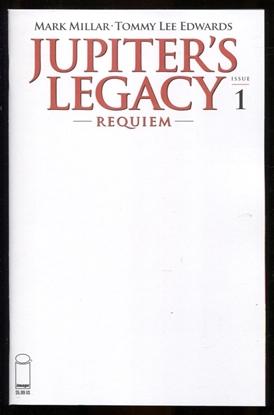 Picture of JUPITERS LEGACY REQUIEM #1 (OF 12) CVR G BLANK CVR (MR)