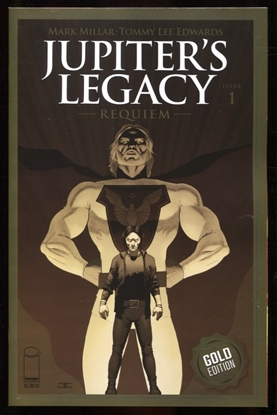 Picture of JUPITERS LEGACY REQUIEM #1 / GOLD FOIL THANK YOU 1 PER STORE NM+