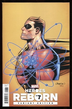 Picture of HEROES REBORN #7 (OF 7) GLEASON VARIANT 1:25