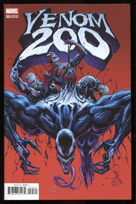 Picture of VENOM #35 JS CAMPBELL VAR 200TH ISSUE