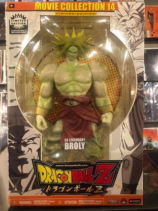 Picture of DRAGONBALL Z SS LEGENDARY BROLY ACTION FIGURE MOVIE COLLECTION 14 NIB