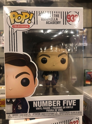 Picture of FUNKO POP TELEVISION THE UMBRELLA ACADEMY NUMBER FIVE #932 FIGURE