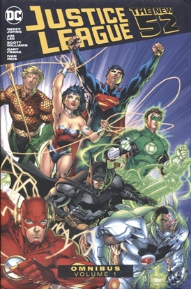 Picture of JUSTICE LEAGUE THE NEW 52 OMNIBUS VOL 1 HC