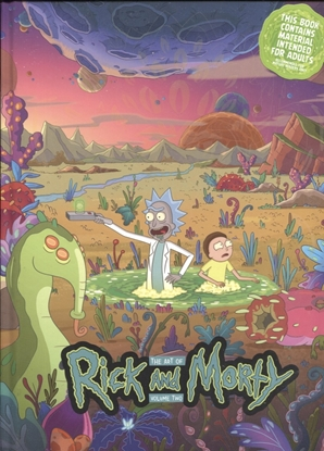 Picture of ART OF RICK & MORTY HC VOL 02 (C: 1-0-0)