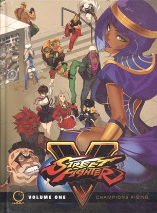 Picture of STREET FIGHTER V HC VOL 01 CHAMPIONS RISING