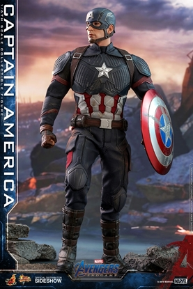 Picture of HOT TOYS AVENGERS ENDGAME CAPTAIN AMERICA 1:6 SCALE FIGURE / NEW