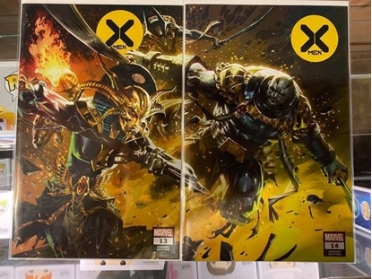 Picture of X-MEN  #13 14 CONNECTING COVER VARIANT SET