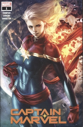 Picture of CAPTAIN MARVEL #1 VARIANT WALMART EXCLUSIVE
