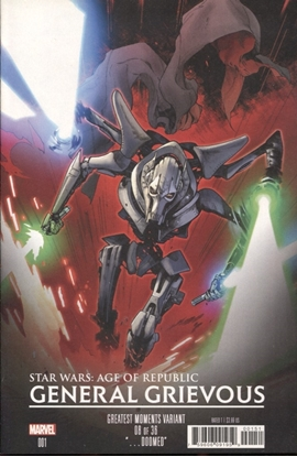 Picture of STAR WARS AGE REPUBLIC GENERAL GRIEVOUS #1 GREATEST MOMENTS VARIANT