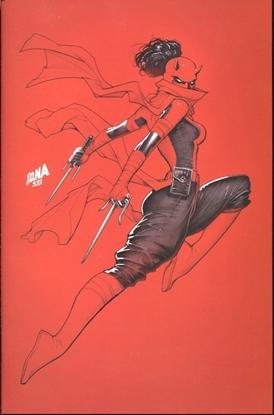 Picture of DAREDEVIL #29 NAKAYAMA VIRGIN VARIANT COVER / VF