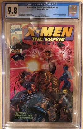 Picture of X-MEN THE MOVIE SPECIAL EDITION 2000 #1 CGC 9.8 NM/MT