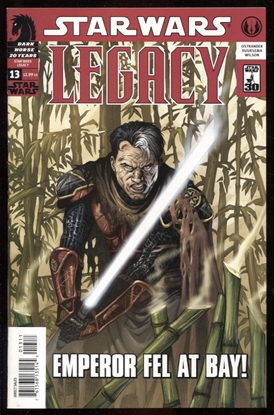 Picture of STAR WARS LEGACY #13 / 1ST PRINT NM+